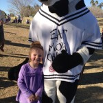 Kendyl and the Cow